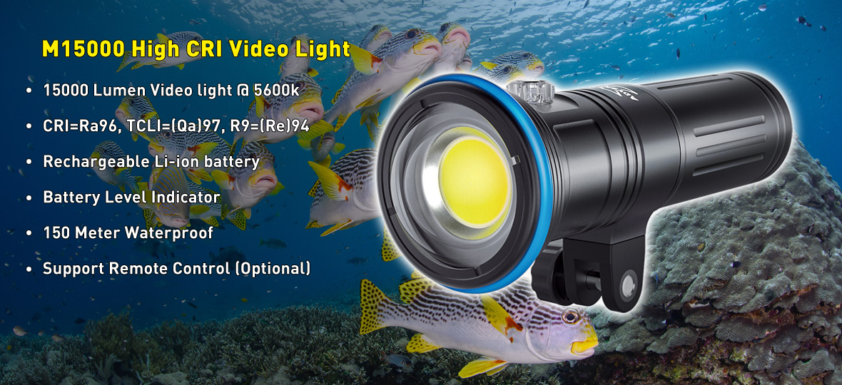 M15000 Video Light