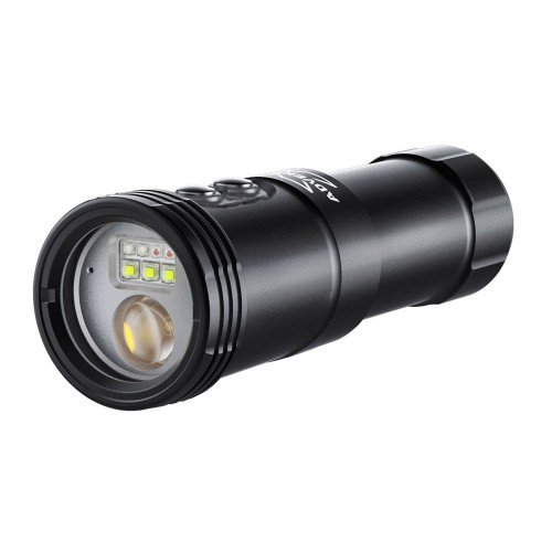 M2500-WSRBA 4in1 Smart Focus Video Light (Wide light + Snoot Light + Red light + Blue light with Auto Flash-Off Function)