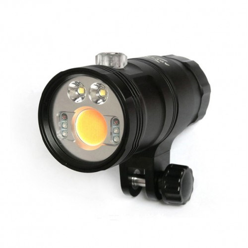 M3800-WSRU True-color Multi-Function Video Light (Wide light + Spot light + Red light + UV light)