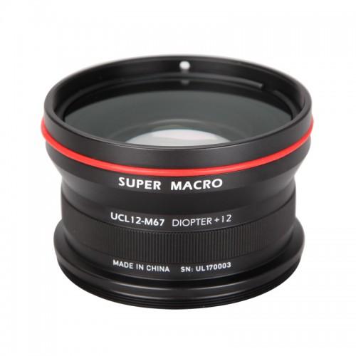 UCL12-M67 Underwater Super Marco Conversion Wet Lens