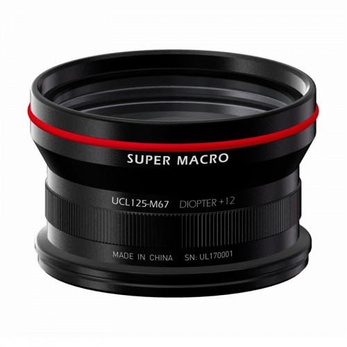 UCL12-M67 Underwater Super Marco Conversion Wet Lens